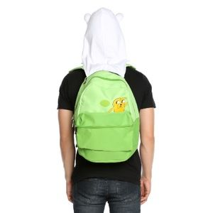 NWOT Adventure Time Backpack with Hood